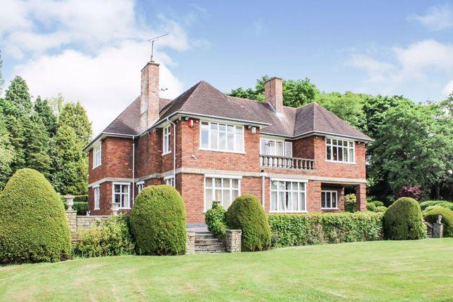 Thumbnail Detached house for sale in Leek Road, Longsdon, Staffordshire