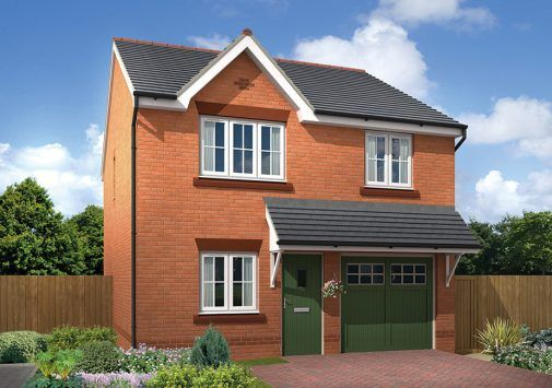 Thumbnail Detached house for sale in The Marford Sandy Lane, Chester, Cheshire