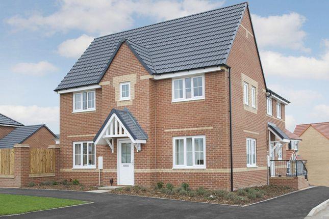 "Thumbnail Semi-detached house for sale in ""Morpeth"" at Carters Lane, Kiln Farm, Milton Keynes"