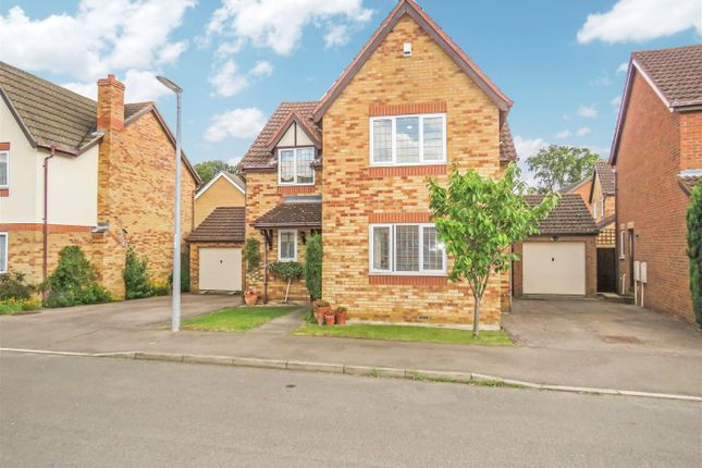 Thumbnail Detached house for sale in Murrell Close, St. Neots