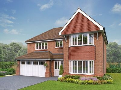 Thumbnail Detached house for sale in The Llandrillo, Holmes Chapel Road, Congleton, Cheshire