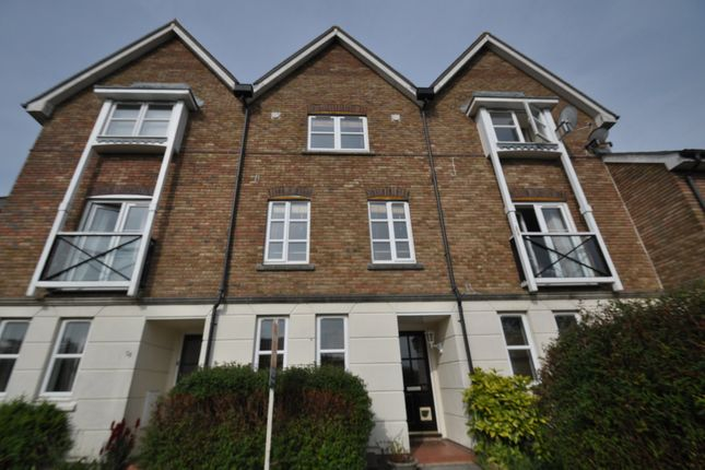 Thumbnail Terraced house to rent in Mill Court, Ashford