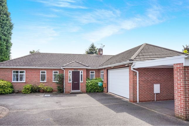 Thumbnail Detached bungalow for sale in Cradock Drive, Quorn