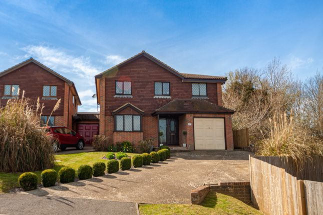 Thumbnail Detached house for sale in Heathdown Close, Peacehaven