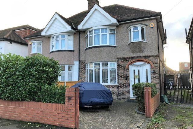 Thumbnail Semi-detached house for sale in Ellerdine Road, Hounslow, Greater London