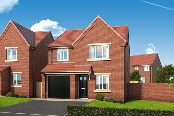 "Thumbnail Property for sale in ""The Elm At The Garth"" at Dunblane Crescent, West Denton, Newcastle Upon Tyne"