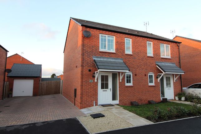 Thumbnail Semi-detached house for sale in Rowan Place, Bidford On Avon