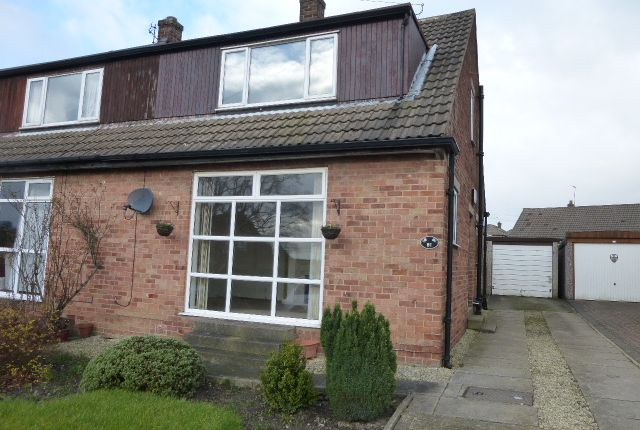 Thumbnail Semi-detached house to rent in Chatsworth Fall, Pudsey