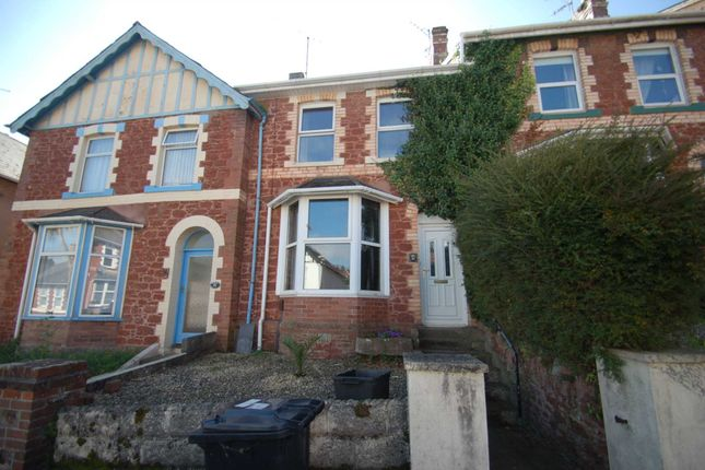 Thumbnail Terraced house to rent in Sherwell Hill, Torquay