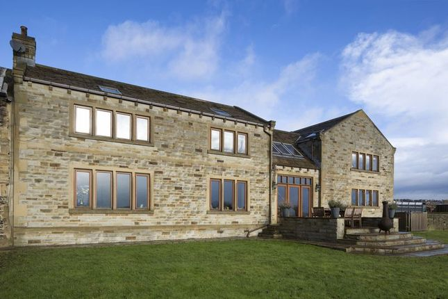 Thumbnail Detached house for sale in Low Farm Cottage, Lodge Lane, Liversedge