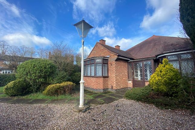 Thumbnail Detached bungalow for sale in Beechwood Avenue, Burbage, Hinckley, Leicestershire