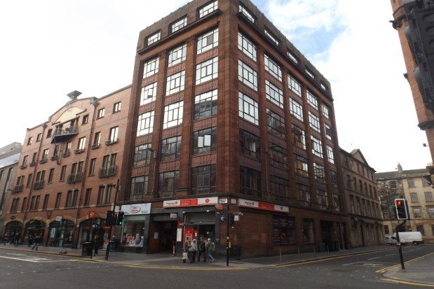 Thumbnail 1 bed flat to rent in 83 Wilson Street, Glasgow