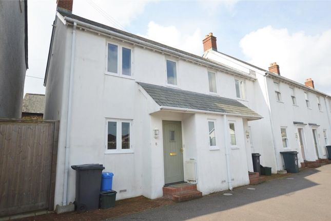 Thumbnail End terrace house to rent in Weatherill Court, Vine Passage, Honiton, Devon