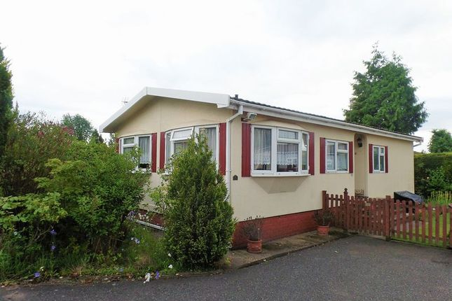 Thumbnail Mobile/park home for sale in Breton Park, Muxton, Telford