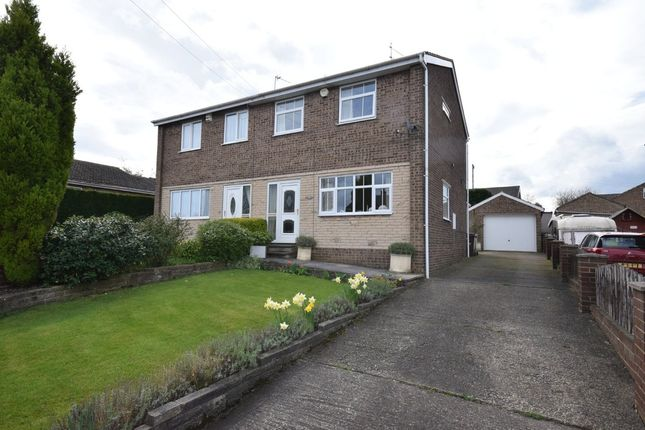 Thumbnail Semi-detached house for sale in Dorset Close, Hemsworth, Pontefract