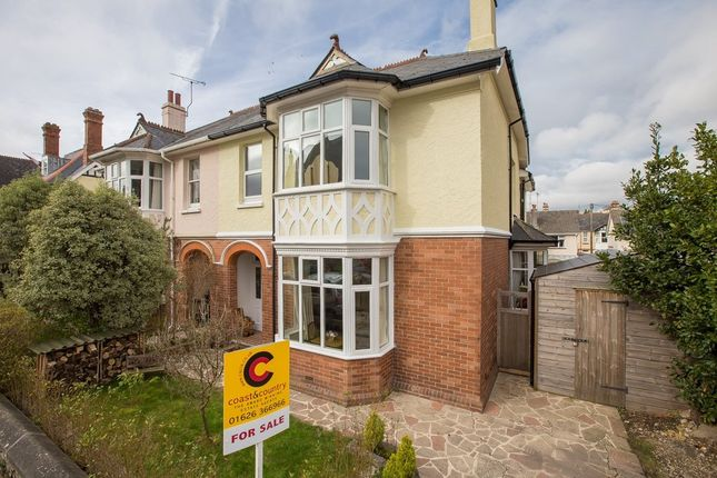 Thumbnail Semi-detached house for sale in Thurlestone Road, Newton Abbot