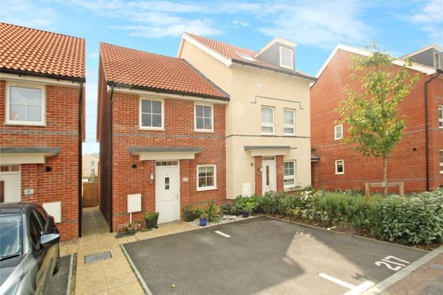 Thumbnail Semi-detached house for sale in Overton Road, Worthing, West Sussex
