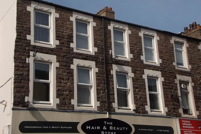 Thumbnail Flat to rent in Oxford Street, Workington