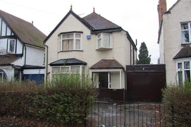 Thumbnail Detached house to rent in Barn Lane, Birmingham