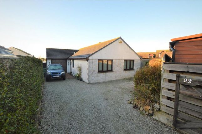 Thumbnail Detached bungalow for sale in Trelissick Fields, Hayle