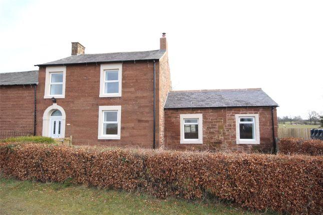 Thumbnail Semi-detached house for sale in Chapel House, Hethersgill, Carlisle, Cumbria