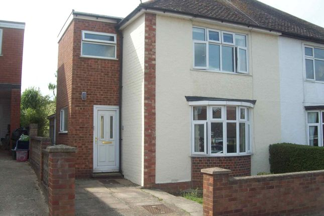 Thumbnail Semi-detached house to rent in Fern Road, Rushden