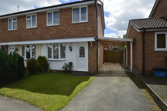 Thumbnail Semi-detached house for sale in Cotshore Drive, Shrewsbury