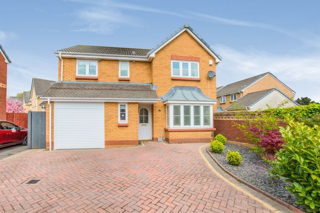 Thumbnail Detached house for sale in Wyncliffe Gardens, Pentwyn, Cardiff