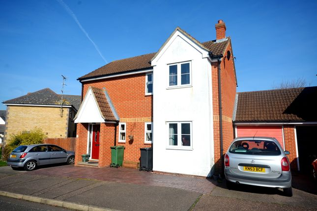 Thumbnail Link-detached house for sale in Clouded Yellow Close, Braintree