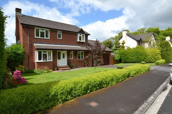 Thumbnail Detached house for sale in The Otters, Bolham, Tiverton