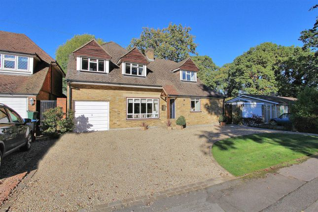 Thumbnail Detached house for sale in Hare Hill Close, Pyrford, Woking