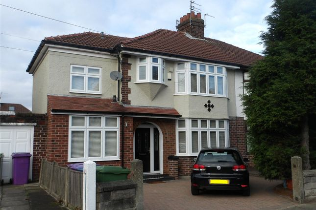 Thumbnail Semi-detached house for sale in Hampton Court Road, Liverpool