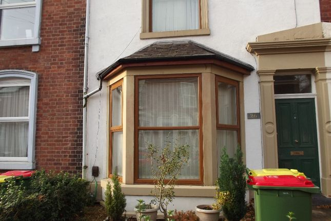Thumbnail Terraced house to rent in Grafton Street, Preston