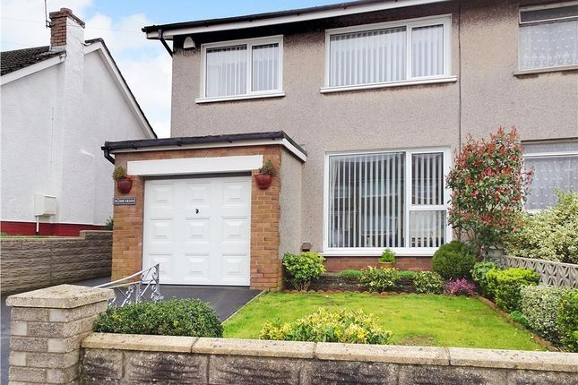 Thumbnail Semi-detached house for sale in Heol Y Sheet, North Cornelly