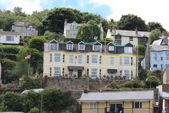 Thumbnail Flat to rent in West Road, West Looe, Looe