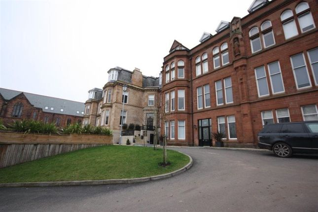 Thumbnail Flat to rent in Victoria Crescent Road, Glasgow