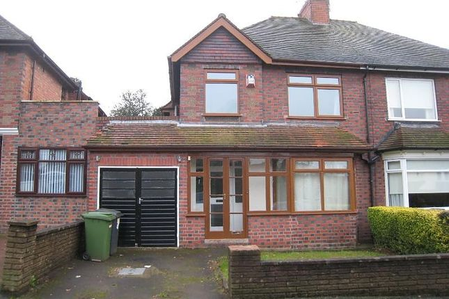 Thumbnail Property to rent in Goldthorn Crescent, Penn, Wolverhampton