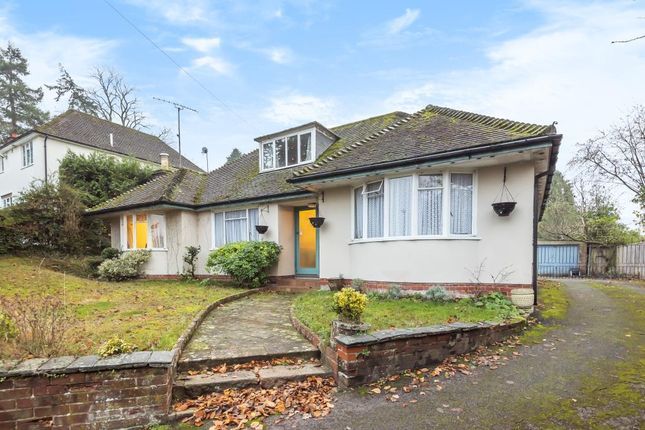 Thumbnail Detached bungalow for sale in Newtown Road, Newbury