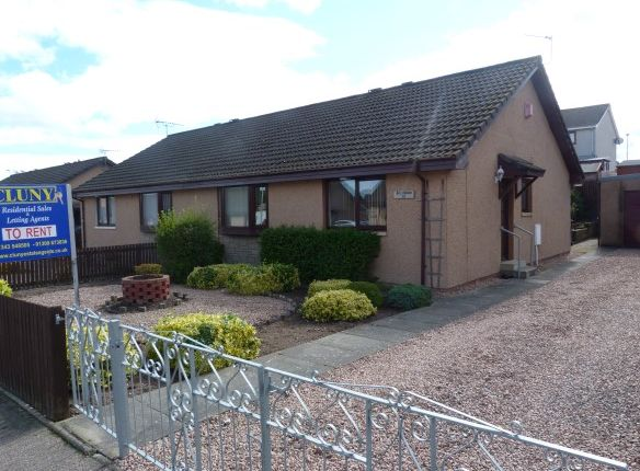 Thumbnail Semi-detached bungalow to rent in Springfield Drive, Elgin