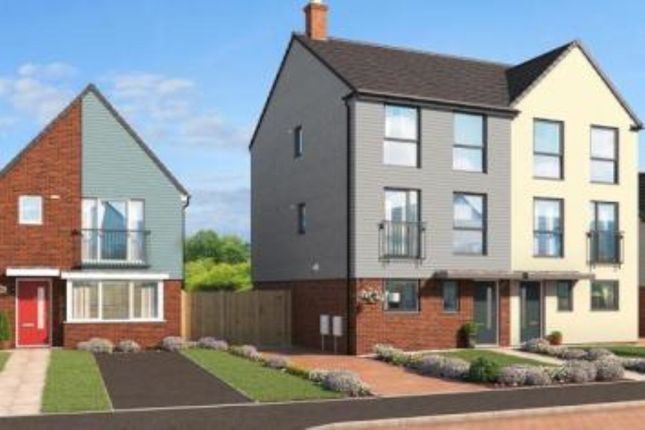 Thumbnail Semi-detached house for sale in The Yew Eaves Lane, Stoke-On-Trent