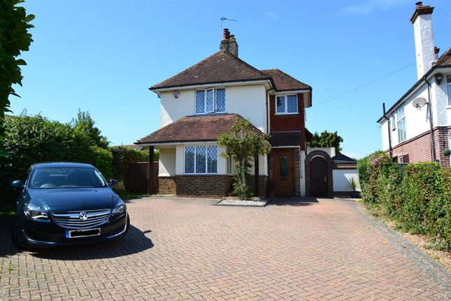 Thumbnail Detached house for sale in Eastbourne Road, Willingdon, Eastbourne