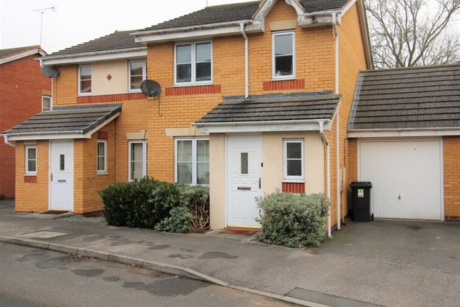 Thumbnail Semi-detached house to rent in Viaduct Close, Rugby