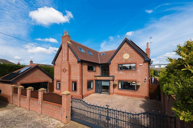 Thumbnail Detached house for sale in Victoria Road, Aughton, Ormskirk