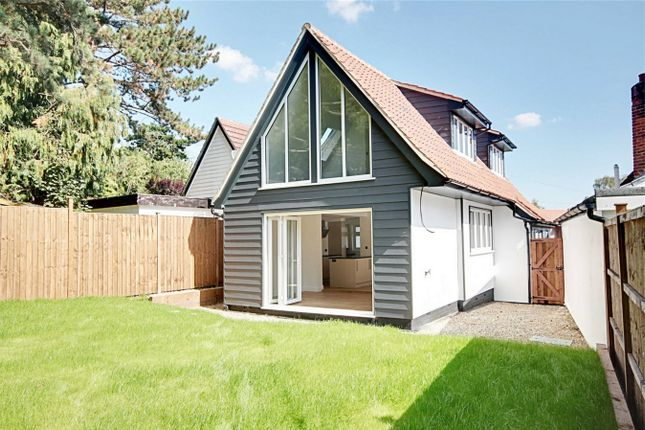 Thumbnail Detached house for sale in Church Crescent, Sawbridgeworth, Hertfordshire