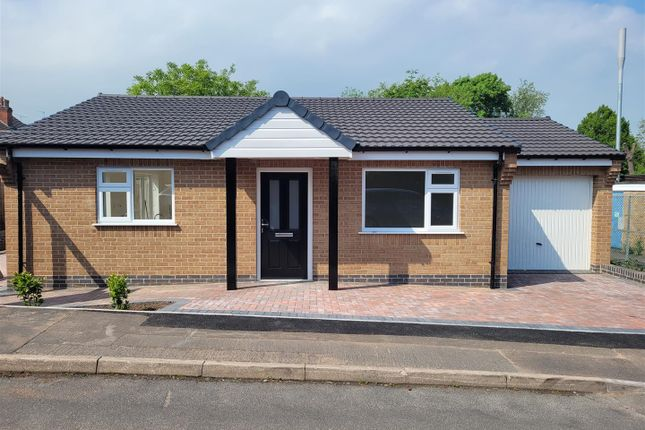 Thumbnail 2 bed detached bungalow to rent in Garendon Close, Shepshed, Loughborough