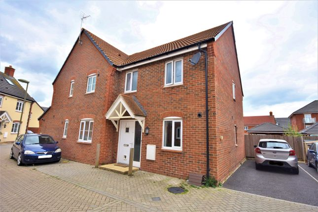 Thumbnail 2 bed end terrace house for sale in Lime Walk, Didcot