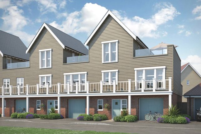 Thumbnail Town house for sale in The Albero, Beaulieu Chase, Centenary Way, Off White Hart Lane, Chelmsford, Essex