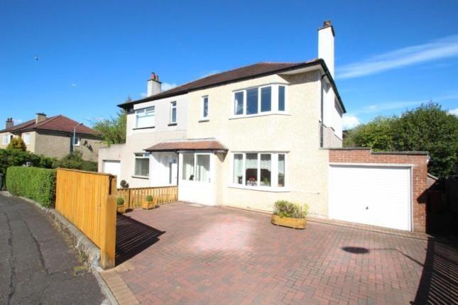 Thumbnail Semi-detached house for sale in Marguerite Avenue, Lenzie, Glasgow