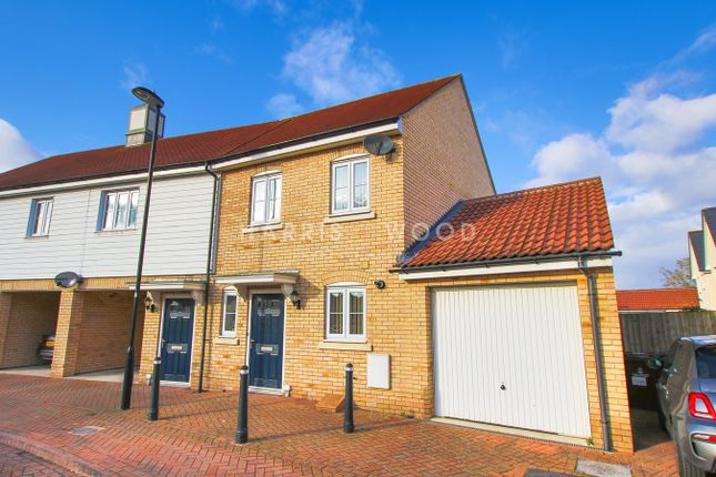 Thumbnail Link-detached house for sale in Corunna Drive, Colchester
