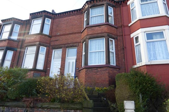 Thumbnail Terraced house to rent in Hinderton Road, Tranmere, Birkenhead